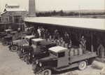 Photograph, 7 of 19, Mataura Dairy Factory Album [Farmers' Trucks]; unknown photographer; 1927; MT2012.139.7