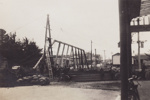 Photograph [Construction Mataura Arch Bridge]; Kerr, Daphne (nee Perry); 1938-1939; MT2012.57.1