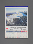 Calendar, Falls Service Station, Mataura; unknown maker; 1988; MT2012.108.6