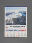 Calendar, Falls Service Station, Mataura; unknown maker; 1988; MT2012.108.6