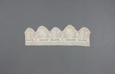 Crocheted edging; McGowan, Elizabeth [Bessie]; 1900-1927; MT2014.8.6