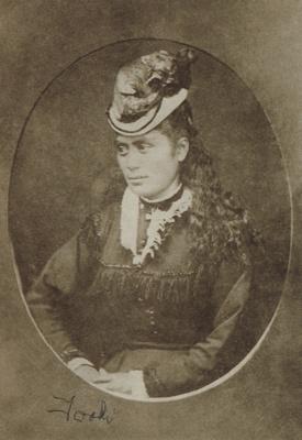 Photograph [Toke Mere Reko]; unknown photographer; 1870-1880; MT2013.23.1