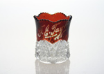 Vase, Souvenir, New Zealand and South Seas International Exhibition; unknown maker; 1925-1926; MT2012.60.2