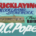 Advertising sign, D.C. Pope, Bricklayer; unknown maker; 1965-1975; MT2013.26.2