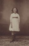 Postcard [Nan Taylor, dancer]; Wootton's Studio (Invercargill); c.1912; MT2011.185.234