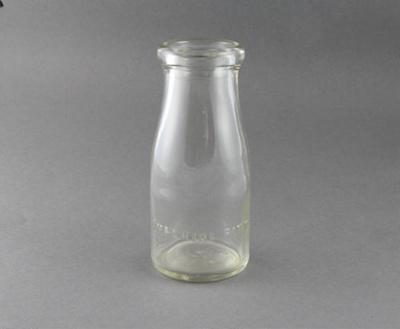 Bottles, milk, half pints; unknown maker; 1930-1970; MT2012.85.3