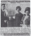Newspaper article, Mrs Hazel Dickie; The Southland Times; 1970; MT2012.14.6