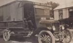 Photograph [Truck, D Balloch, Carrier, Mataura].; unknown photographer; 1920-1940; MT2011.185.101