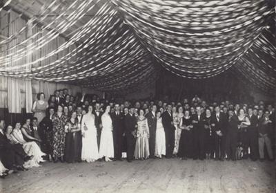 Photograph [Mataura Paper Mill, Dance]; unknown photographer; 1940-1960; MT2011.185.60