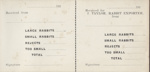 Book, Receipt book, Mataura Rabbit Export Factory; unknown maker; 1910s; MT2012.67