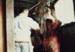 Photograph [Strike Relief, Mataura Freezing Works]; Green,Trevor; 30.04.1990; MT2013.6.39