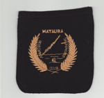 Pocket, Blazer, Mataura Amateur Swimming Club; unknown maker; 1960-1969; MT2012.116.1