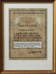 Certificate [Mataura School, Post Office Savings Bank Award, 1969]; unknown maker; 1969; MT2011.185.445.1