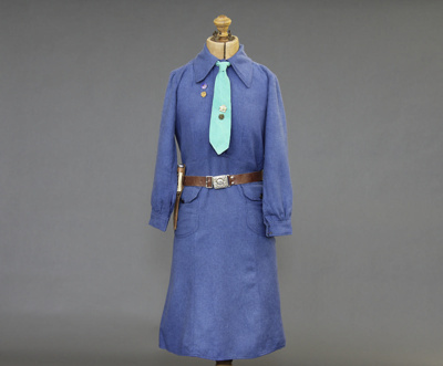 Girl Guides Leader's Dress; this dress belonged to...