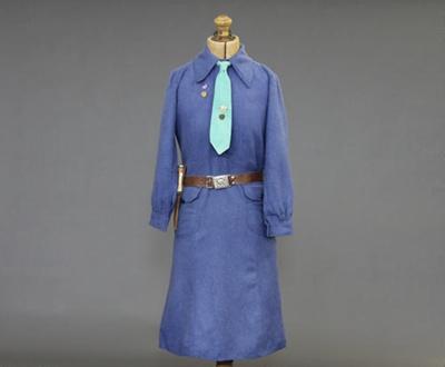 Girl Guides Leader's Dress; unknown maker; 1955-1963; MT2012.30.1