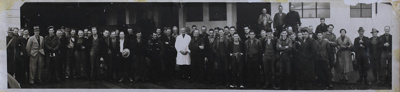 Photograph [Mataura Freezing Workers, 1937-1938 season]; unknown photographer; 1937-1938; MT2011.185.510