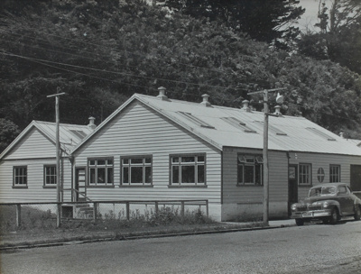 Photograph, [Mataura Paper Mill, Offices] ; unknown photographer; 1955-1965; MT2011.185.452