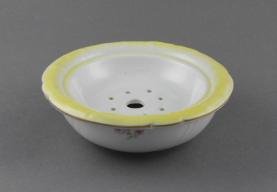 Soap dish; originally owned by the Coster family o...