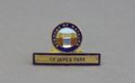 Badge, Mataura Borough Council; unknown maker; 1890s; MT2012.17.1