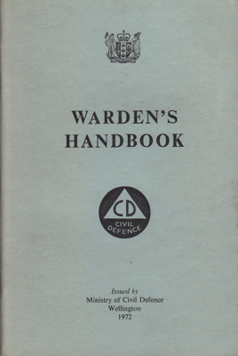 Book; Civil Defence Warden's Handbook from 1972. T...