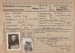 Prisoner of War Identity Record [Flight Sergeant, W.H. Russell]; unknown maker; 20.09.1941; MT2014.14.12