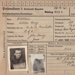 Prisoner of War Identity Record [Flight Sergeant, W.H. Russell]; 20.09.1941; MT2014.14.12