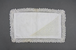 Pillow case; McGowan, Elizabeth [Bessie]; 1900-1927; MT2014.8.3