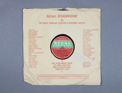 Gramophone Record