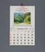 Calendar, A. M.Thompson, Mataura; unknown maker; 1970; MT2012.107.6