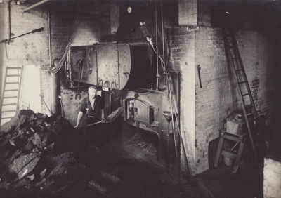 Photograph, 5 of 19, Mataura Dairy Factory [Boiler House]; unknown photographer; 1927; MT2012.139.5
