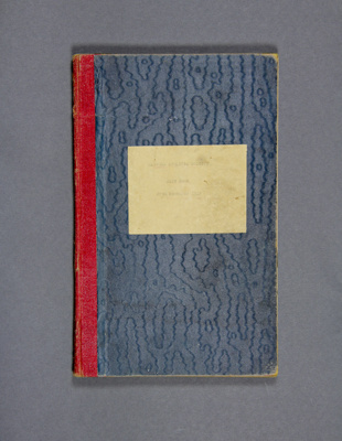 Cash Book, Mataura Athletic Society ; Mataura Athletic Society; 1929 -1956; MT2012.133.3