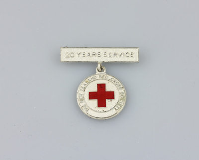Medal, Red Cross ; unknown maker; 1959-60; MT2012.39.1