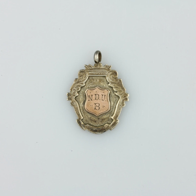Medal; awarded to Hugh Brown McConnell (then aged ...