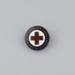 Red Cross membership badge; unknown maker; 1939-1950; MT2012.39.2