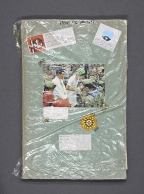 Scrapbook; (5 of 5) Scouting scrapbook (1966-1996)...