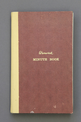 Minute book; Mataura School Committee meeting minu...