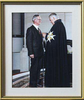 Photograph, framed [K.R. Henderson]; unknown photographer; 1989; MT2000.166.3.22