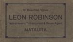 Album, postcards [Leon Robinson]; unknown photographer; 1932-1933; MT2012.5.5