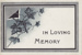 Memorial Card, Forrest Brown; unknown maker; 1904; MT2012.61