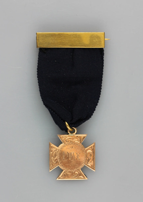 Medal; awarded to William Henry (Billy) Russell as...