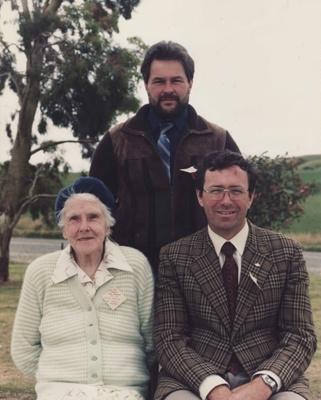 A coloured photograph of three teachers - Kerry L ...