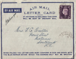 Letter, Charles McConnell to Clara Quilter; McConnell, Charles Lancelot; 18.01.1942; MT2015.20.82