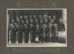 Photograph [Mataura Town Band, 1932]; unknown photographer; 1932; MT2011.185.276.1