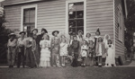 Photograph [Ferndale School children in fancy dress]; unknown photographer; 1940s-1950s; MT2011.185.395