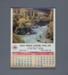 Calendar, Falls Service Station, Mataura; unknown maker; 1985; MT2012.108.4