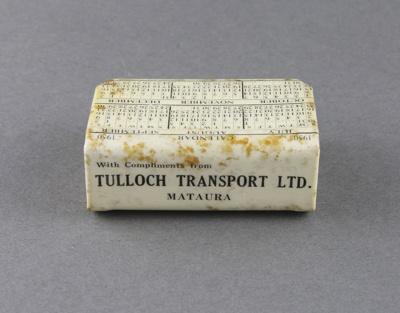 Match box and holder; a box of beehive safety matc...