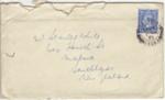 Letter, Aubrey Ledden (England) to Stanley White (New Zealand); Ledden, Aubrey; 30.10.1943; MT2013.12.5