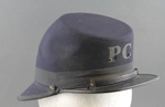 Police Shako; Hill, Charles & Sons; 1926-1930; MT1996.135.3
