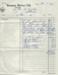 Invoice, Mataura Motors Ltd; Mataura Motors Ltd; 1960; MT2012.153.3