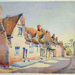 Water Street, Lavenham; Andrews, Sybil; 1921; BSEMS: 1992.9.663